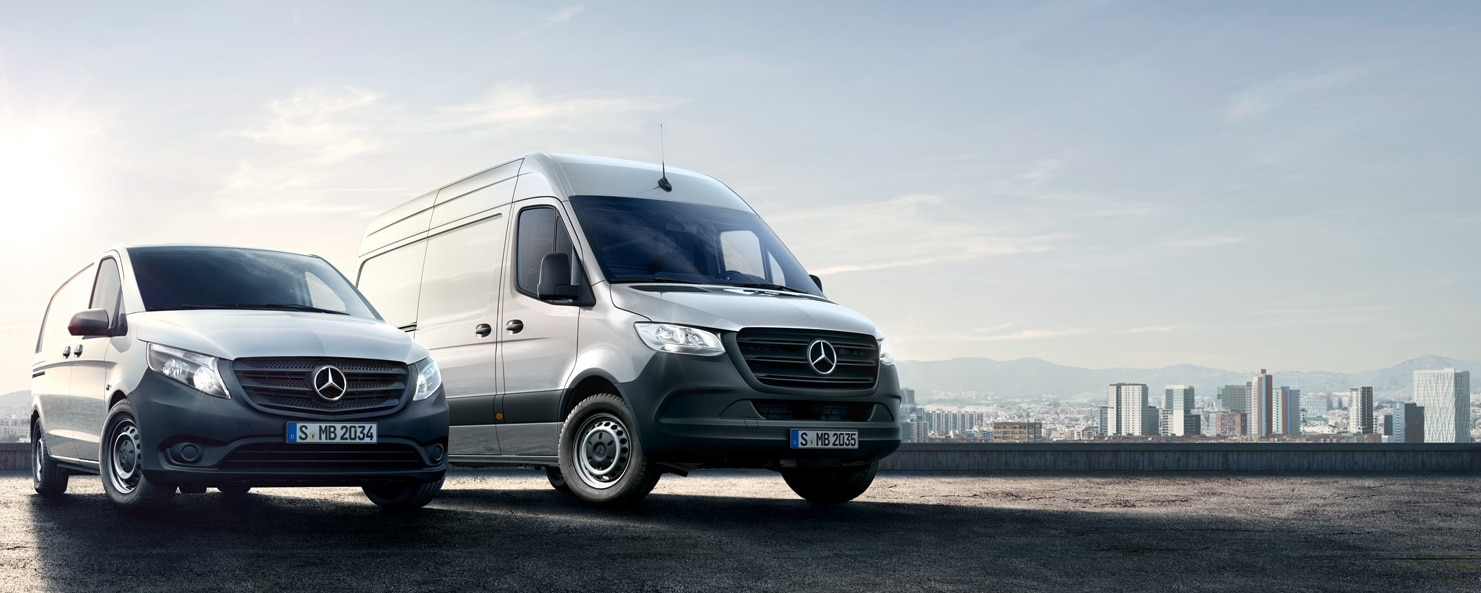 Mercedes-Benz Range with the new Sprinter and Vito