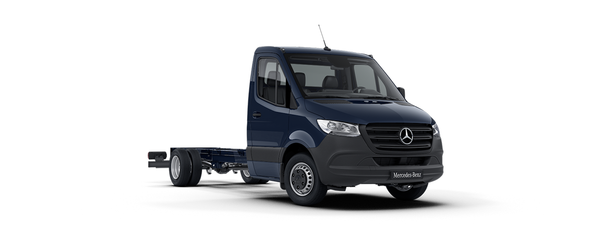 Sprinter Chassis Cab, cavansite blue