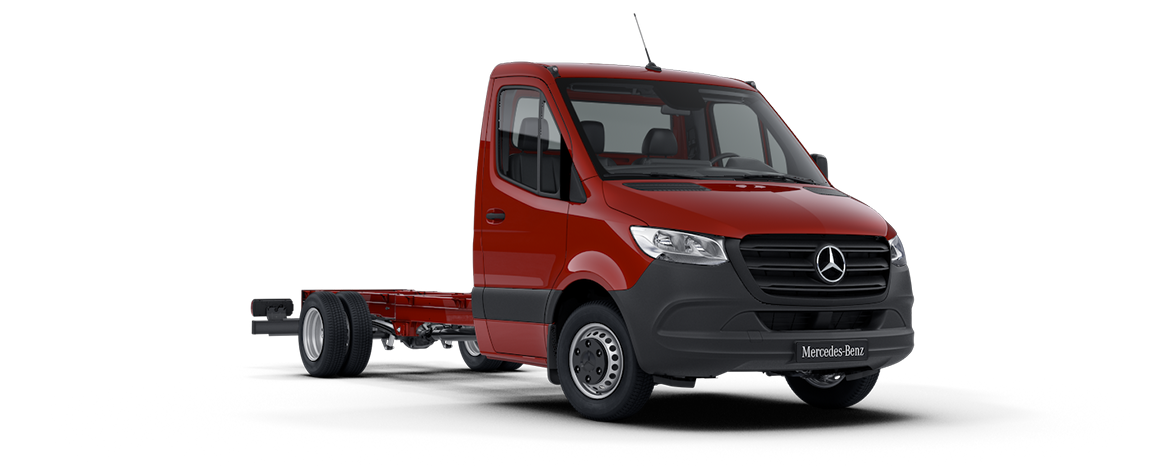 Sprinter Chassis Cab, Jupiter red