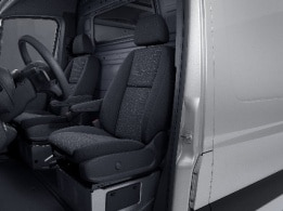 Sprinter Chassis Cab, driver's seat with lumbar support
