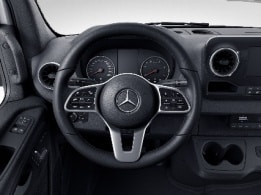 Sprinter Chassis Cab, multifunction steering wheel