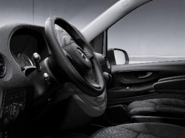 Vito Panel Van, steering wheel adjustable in inclination and height