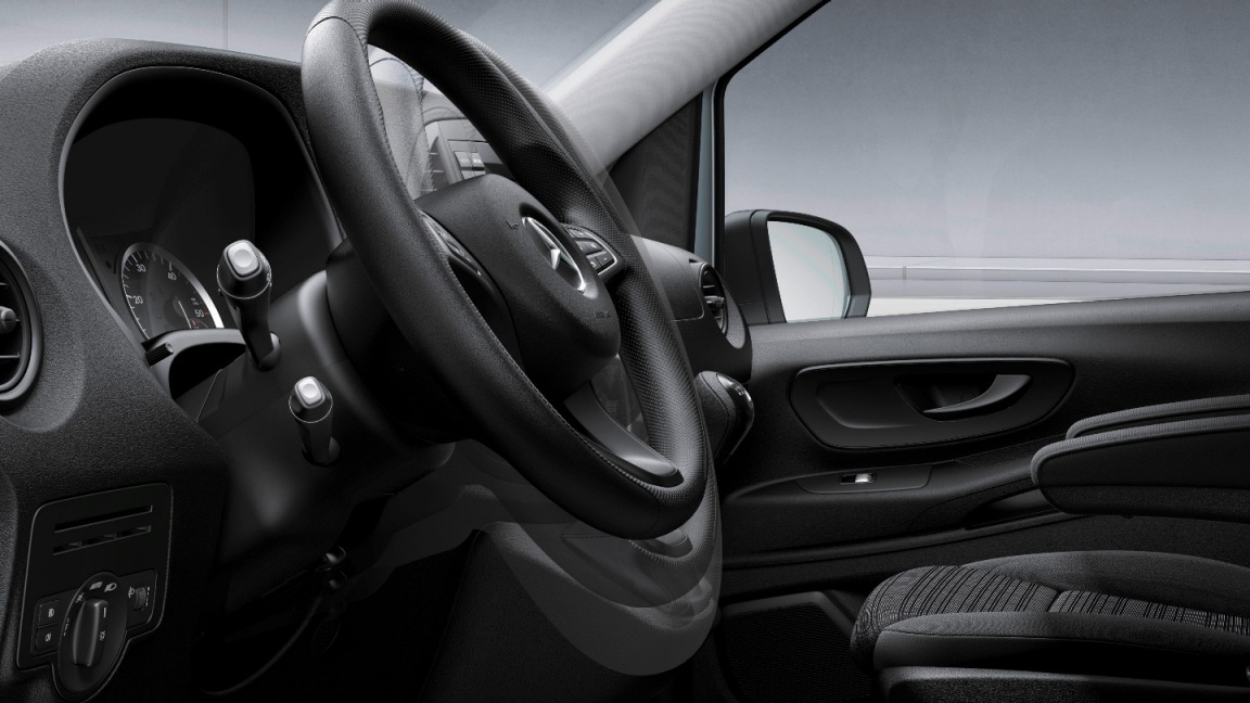 Vito Tourer, steering wheel adjustable in inclination and height